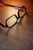 Schwarze Brillen Stockbild