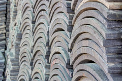 Schwarze Dachplatte Lizenzfreies Stockbild