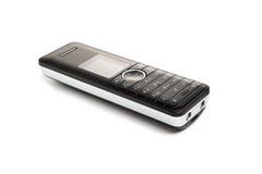 Schwarze drahtloses Telefon-Tastatur lizenzfreies stockfoto