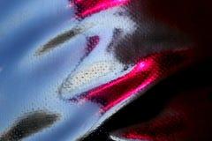 Schwarze Drapierungsbeschaffenheit mit rosa Glanz vom rauen ledernen Gewebe stockfotos