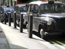 Schwarze Fahrerhäuser Lizenzfreies Stockfoto