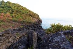 Schwarze Felsengebirgs- und -seeansichten Lizenzfreies Stockbild