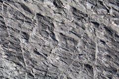Schwarze Felsenhintergrundbeschaffenheit nahe Tofino, Briten Columbi lizenzfreies stockbild
