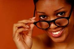 Schwarze Frau Stockfoto