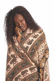 Schwarze Frau Stockfotografie