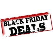Schwarze Freitag-Abkommen lizenzfreie abbildung