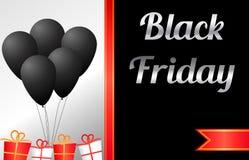 Schwarze Freitag-Verkaufs-Fahne Lizenzfreies Stockfoto