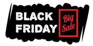 Schwarze Freitag-Verkaufsfahnen Stockfotos
