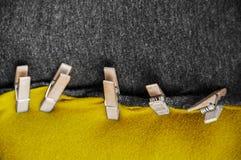 Schwarze gelbe Koalition Lizenzfreie Stockfotos