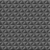 Schwarze geometrische Beschaffenheit, nahtlos Lizenzfreie Stockfotografie