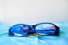 Schwarze Gläser Lizenzfreie Stockfotos