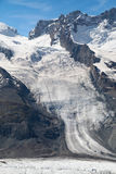Schwarze Glacier Stock Photography