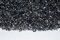 Schwarze Glassprungsbeschaffenheit Stockfotos