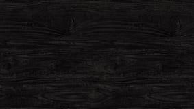 Schwarze hölzerne Beschaffenheit alte Panels des Hintergrundes Lizenzfreies Stockbild