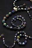 Schwarze Halskette lizenzfreie stockbilder