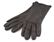 Schwarze Handschuhe Stockbild