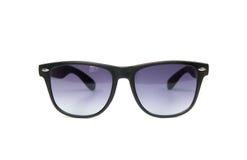 Schwarze Hippie-Sonnenbrille Stockbild