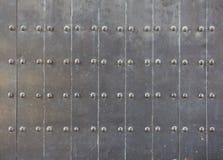 Metalltür  Alte Schwarze Metalltür Lizenzfreie Stockfotos - Bild: 25921998