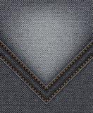 Schwarze Jeans mit Winkel vektor abbildung