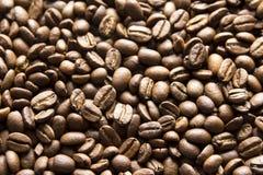 Schwarze Kaffeebohnen Lizenzfreies Stockfoto
