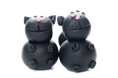 Schwarze Katzen Stockbilder