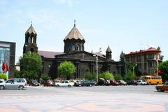 Schwarze Kirche Stockbild