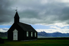 Schwarze Kirche stockfoto
