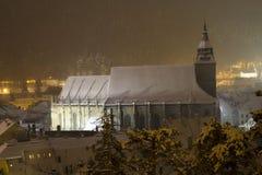 Schwarze Kirche - Biserica Neagră Stockfotos