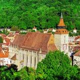 Schwarze Kirche Brasov Stockfotos