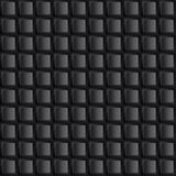 Schwarze Knöpfe der Tastatur Abstraktes nahtloses Muster Stockfotografie