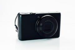 Schwarze kompakte Kamera Stockfoto
