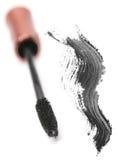Schwarze kosmetische Wimperntusche lizenzfreies stockfoto