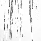 Schwarze Lacktropfenfänger stockbild
