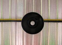 Schwarze Lampe auf dem Dach lizenzfreies stockfoto