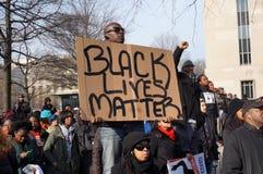 Schwarze Leben-Angelegenheit lizenzfreie stockbilder