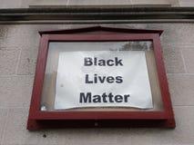Schwarze Leben-Angelegenheit, NYC, NY, USA Stockbilder
