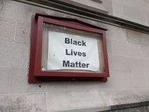 Schwarze Leben-Angelegenheit, NYC, NY, USA Stockfotografie