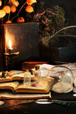 Schwarze Magie-Ritual Lizenzfreie Stockbilder
