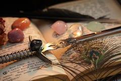 Schwarze Magie-Ritual Lizenzfreies Stockbild