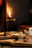 Schwarze Magie-Ritual Lizenzfreies Stockfoto