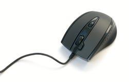 Schwarze Maus Stockfoto