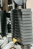 Schwarze metallische oder Eisenplatten Stockbilder