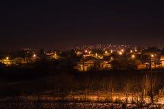 Schwarze Nacht Stockfoto