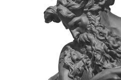 Neptun-Skulptur Stockbild