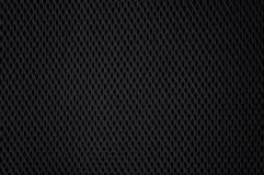 Schwarze Nylonineinander greifenbeschaffenheit Stockfotos