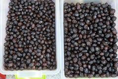 Schwarze Olive lizenzfreie stockfotografie