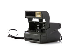 Schwarze polaroidkamera Lizenzfreie Stockfotos