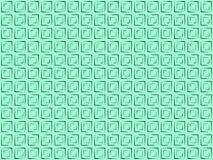 Schwarze Quadrate Pattern_01_mint-Hintergrundes stock abbildung