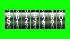 Schwarze Rollen des Zählers vektor abbildung