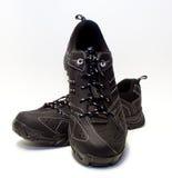 Schwarze Schuhe Stockfotografie